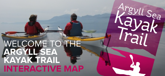 Welcome to the Argyll Sea Kayak Trail Interactive Map